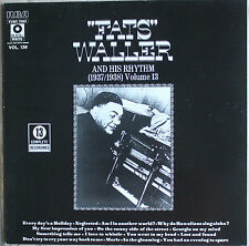 FATS WALLER AND HIS RHYTHM VOL 13  33T LP
