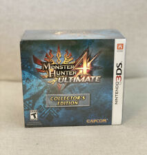 Monster Hunter 4 Ultimate -- Collector's Edition (Nintendo 3DS, 2015)