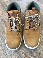 Timberland Nubuck Chukka Boots Uk 8 Sand Lace up
