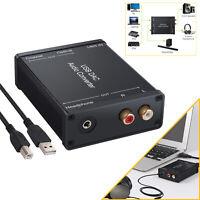 USB DAC Audio Converter USB Audio Sound Card USB to Coaxial S/PDIF Converter