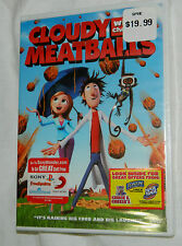NEW Cloudy With a Chance of Meatballs (DVD, 2010) with Plastic Case