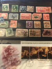 Album Of Stamps Usa Mexico And South America