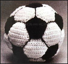 CROCHET PATERN How To Make a FOOTBALL Soccer Ball Toy SPORT Children Boys Girls