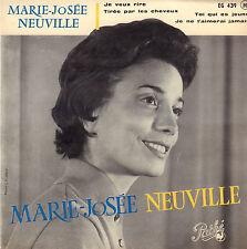 "MARIE-JOSEE NEUVILLE – Je Veux Rire (1959 VINYL EP 7"" FRANCE)"