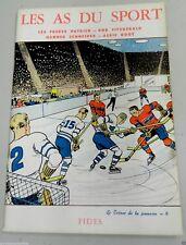 1951 The Ace Of Sports Hockey Comic Lester & Lynn Patrick New York Rangers Vtg