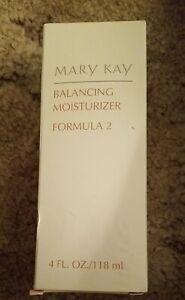 RARE MARY KAY BALANCING MOISTURIZER FORMULA 2 DISCONTINUED 4 OZ 1067 NIB