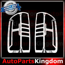 15-17 Chevy Colorado Triple Chrome plated Taillight Trim Cover Bezel 2016 2017