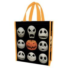 The Nightmare Before Christmas Jack Faces Small Recycled Shopper Tote Bag UNUSED