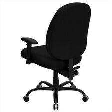 Hercules Series Big and Tall Office Arm Chair in Black ID 57537