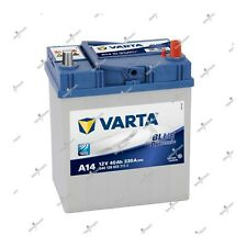 Batterie Blue Varta A14 12V 40ah 330A 540126033 187x140x227mm