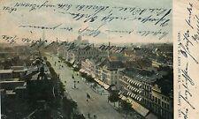 Belgium Anvers Antwerpen - Vue du Haut de la Gare old postcard