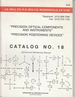 VINTAGE CATALOG - Precision Optical Components - 1992 - Instruments Devices