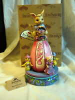 Jim Shore Egg-Cited for Easter Bunny Spinning Centerpiece Heartwood Creek New