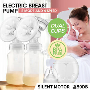 Electric Breast Pump Automatic Milk Suction Double Side Intelligent Baby Feeder