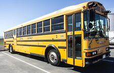 1999 Thomas School Bus, 88 Passenger,GVWR 37060, Miles 158602, 6.6 L SAF-T-LINER