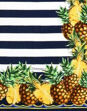 Dolce&Gabbana Pineapple Striped Beach Towel | Rare* | New With Tags |