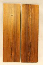 Vintage TANDBERG 10XD tape deck PARTS - original plywood dark oak veneer SIDES