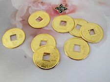 100 CHINESE GOLD LUCKY I-CHING FENG SHUI COIN WEDDING BIRTHDAY NEW YEAR PARTY