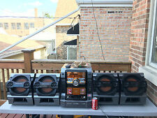 SONY MUTEKI LBT-ZX99i 5-CD CHANGER 720 Watt Hi-Fi STEREO SYSTEM W/Remote & Wires