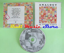 CD ANALOGY 25 years later OHRWASCHL RECORDS OWR07 (Xs3) no lp mc dvd