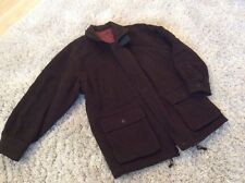 Gents Brown Wool Mix 3/4 Jacket Size 52 Exc Cond Best Price Hols 21/4 To 30/4