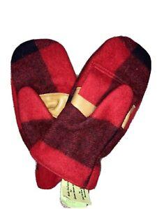 cold hollow knitting xxxl hunting mittens wool nwt