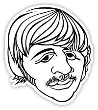 "The Beatles Ringo Starr sticker decal 4"" x 5"""