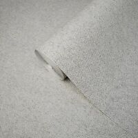 Vinyl non woven gray textured Wallpaper faux fabric textures plain wallcoverings