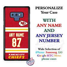 KANSAS CITY CHIEFS FOOTBALL PHONE CASE FOR iPHONE 11 SAMSUNG A20 10e GOOGLE LG