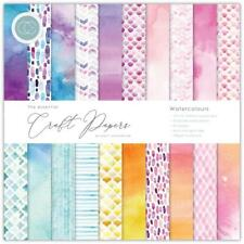 "Craft Consortium 12"" Paper Pad Watercolours 30pg Double Sided"