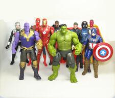 Lot 10 pcs Avengers Infinity War Thor Iron Man Hulk  Thanos Action Figures Toy