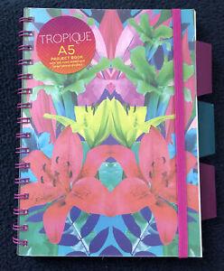 Fashionable A5 Project Book Tropique