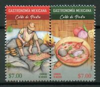 Mexico 2018 MNH Gastronomy Caldo de Piedra 2v Set Cultures Traditions Stamps