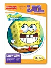 Fisher-Price iXL Learning System Software Spongebob Squarepants Age 3-7