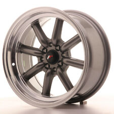 Japan Racing JR19 Alloy Wheel 16x8 - 4x100 / 4x114.3 - ET-20 - Gun Metal