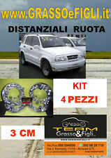 kit 4 Distanziali Ruota For Suzuki Grand Vitara 1999 -> 2005 30 mm Wheel Spacers