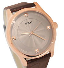 GUESS MEN'S COLLECTION ROSE GOLD DIAMOND EDITION WATCH U0539G2