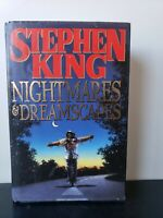 NIGHTMARES AND DREAMSCAPES~Stephen King~1993~HC/DJ~First Edition~1st Printing