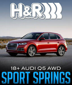 H&R SPORT RAISING SPRINGS FOR 2018+ AUDI Q5 50380