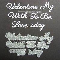 Britannia Dies - Valentine My With To Be Love s'day  - Cardmaking
