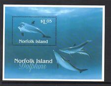NORFOLK ISLAND MNH 1997 MS642 DOLPHINS MINISHEET