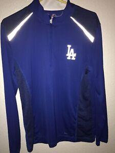 LA Dodgers Baseball Long Sleeve 1/4 Zip size-M *Brand New*