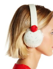 Kate Spade New York Cupcake Earmuffs in Aqua Glass/Cream Ret: $78 New w/Tags