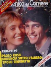 Domenica del Corriere 52 1979 Paolo Rossi sposa la Rizzato. A casa Wojtyla C51