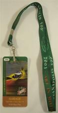 2003 Indianapolis 500 Event Collector Lanyard & Garage Credential