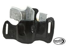 Ruger LCP RED Crimson Trace Laser OWB w/Attached Mag Holster R/H Black