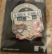 2009 Yankee Stadium 1st Ever Game Nationals Yankees pin