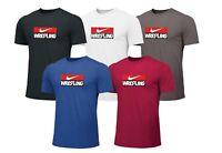 Neu Nike WRESTLING Herren T-shirt Wrestling Training Shirt Ringen