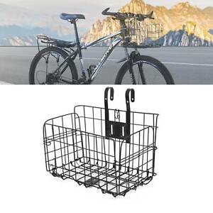 BIKE/BICYCLE METAL MESH BASKET & QUICK RELEASE BRACKET SHOPPING