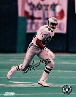 Antonio Freeman Signed 8X10 Photo Autograph Eagles On Field Running Auto w/COA